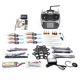 Hexacopter 6-axle Aircraft Kit HMF S550 Frame PXI PX4 Flight Control 920KV Motor GPS AT9 Transmitter 9443 Props