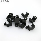 10Pcs N20 Plastic Black Motor Fixed Seat with Screw DIY Motor Mounting Bracket Holder