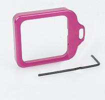 CNC Aluminum Lanyard Ring Lens Mount Set Pink for Gopro Hero3+ Hero 3 Plus  GITUP GIT1 GIT2