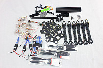 F08618-D HMF S550 F550 Upgrade Hexacopter 6-Axis Frame Kit with Landing Gear +ESC+Motor+QQ Control Board+Propellers+EMS