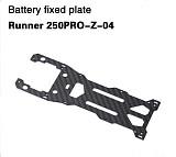 Walkera Battery Fixed Plate Runner 250PRO-Z-04 for Walkera Runner 250 PRO GPS Racer Drone