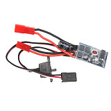 RC 10A Brushed ESC Two Way Motor Speed Controller No Brake For 1/16 1/18 1/24 Car Boat Tank