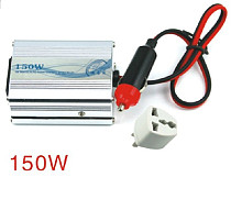 F07549 12V DC to AC 220V Car Auto Power Inverter Converter Adapter Adaptor 150W US
