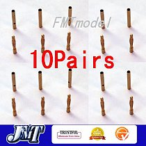 10Pairs Thick Gold Plated 2.0mm Bullet Connector ( banana plug ) ESC Battery