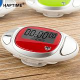 S01088 HAPTIME YGH715 Red LCD Heart Rate Monitor Pedometer Step Calorie Counter 3d Digital Sport Pedometer With Pulse Re