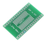 1 Pcs SOP To DIP Pin Pitch 1.27mm Or 50mil Keyset Adapter Plate Converter Board