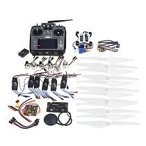 RC HexaCopter ARF Electronic: RadioLink AT10 TX&RX 920KV Brushless Motor 30A ESC Propeller GPS APM2.8 Camera Gimbal