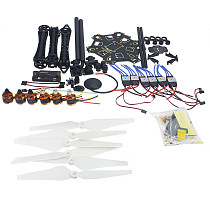 RC Drone 6-axis Aircraft Kit HMF S550 Frame 6M GPS APM 2.8 Flight Control No Transmitter No Battery