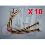 10 pcs/lot 7.4V 2S 26# Balance Charger Extension Cable & Plug