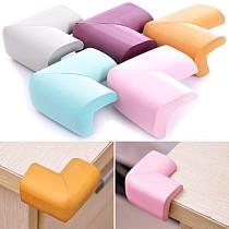 1pcs Table Desk Shelves Edge Corner Cushion Baby Safety Bumper Guard Protector