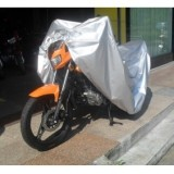 Silver Motorcycle Scooter Cover Waterproof UV Protection Waterproof Dustproof Covering XXL 265cm*115cm*125cm
