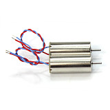 JMT 2S 7.4V 8520 Upgraded DIY 8.5x20mm Mini Coreless Motor CW CCW for Tiny QX90 95 LT105 Micro Indoor Race Quadcopter