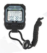 LEAP PC80 Professional Digital Stopwatch Timer Handheld 30 Memory 3 Row Large Display Electronic Pocket Running Timer