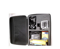 F07568-A Large Storage Bag kit/Handheld Stick/Charger/Protective Case/Suction Cup For Gopro Camera