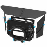 FOTGA DP500 III 3 DSLR Swing-away Matte Box for 15mm Rod Rig 5D3 A7R A7S II BMCC Fit for 19mm Rod System w/ an extra 15-19mm Rod Adapter