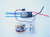 Brushless Outrunner Motor W/Mount A2212 2200KV 6T + 30A ESC Controller For RC Quadcopter multi copter UFO