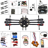 Aircraft Kit Full Set Helicopter Drone Tarot 680PRO Frame 700KV Motor GPS APM 2.8 Flight Control AT9   Transmitter