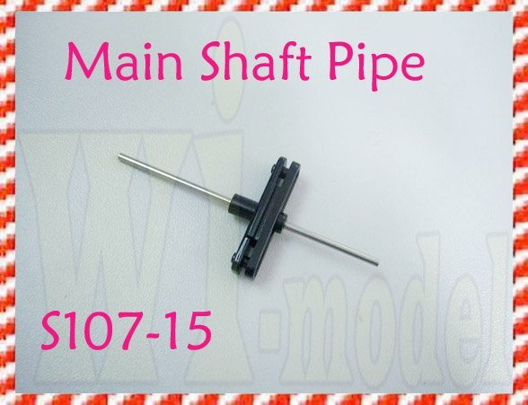 Wholesale Main Shaft Pipe S107-15 , Syma S107 S107G S105 Metal Alloy