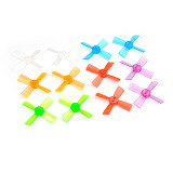 2 pairs 1735 Propeller 1.7 inch 43mm PC Props 4-Blade CW CCW paddle For indoor brushless FPV Racer Drone Quadcopter