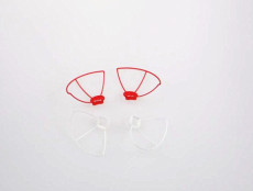 Protection Head Cover Guard Circle Canopy For CX-10 Wltoys V676 RC Helicopter