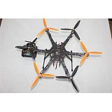 DIY Drone Quadcopter Upgraded Full Kit HMF S550 9045 3-Propeller 6-Axis 6ch RC Hexaopter RTF/ARF No Batter / Charger