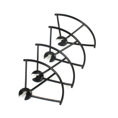 JXD 509 509W 509V 509G RC Quadcopter Spare Parts Protective Ring Propeller Guard 4pcs Black