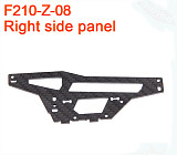 Walkera F210 RC Helicopter Quadcopter spare parts F210-Z-08 Right Side Panel Plate
