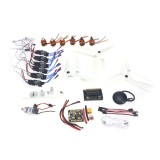 6-axis DIY GPS Drone Electronic:920KV Brushless Motor 30A ESC BEC Self-locking Propeller GPS APM2.8 Flight Control