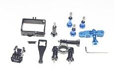 OEM  Universal Protective Sheel Handlebar Seatpost rack Mount Pivot Arm Mount Thumb Knob Screw Fixed Wrench for Gopr