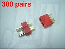 300pairs/lot Deans Ultra Plug Connector Male+Female T plug All RC ESC Battery helli Airplane car boat