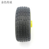 4pcs JMT 65 * 26mm Flat Diameter 5.3 Wheel Rubber Tire DIY Trolley Accessories Robot Model Car Spare Parts