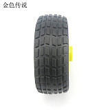 4pcs JMT 65 * 26mm Flat Diameter 5.3 Wheel Rubber Tire DIY Trolley Accessories Robot Model Car Spare Parts