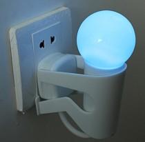 1pc 220V Energy-Saving Electro-Optical Control Induction Lamp Figure Style Night Light LED Wall Plug