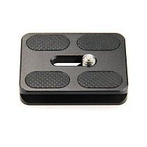 XILETU Universal Tripod Monopod Ball Head Quick Release Plate Head 50x40x10mm PU50 DSLR Accessories