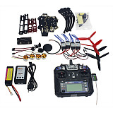 Full Set RC Drone Quadrocopter 4-axis Aircraft Kit Q330 Across Frame 6M GPS APM 2.8 Flight Control FS-i6 6CH Transmitter