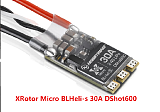 4 Pcs HobbyWing XRotor Micro BLHeli-s 30A ESC Speed Controller ?2-4S LiPo DShot600 Brushless for FPV RC Drone