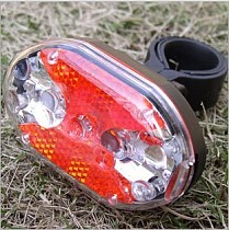 Tail LED Light Safety Warning Lights Rear Light for Bicycle Mountain Bike Cycling