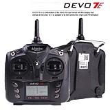 Walkera DEVO 7E 2.4G 7CH DSSS Radio Control Transmitter for RC Helicopter Airplane Model 2 Mode 1 No Receiver