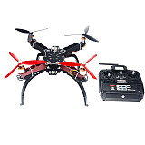 4-axis Aircraft RC Quadrocopter Helicopter RTF HMF Q330 Frame QQ Super Flight Control T6EHP-E TX/RX No Battery