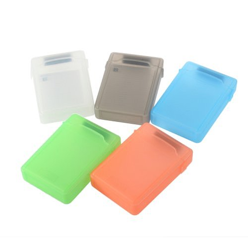 XINTE 3.5 IDE bootable drive protection Box 3.5 inch RS PP Box Anti-Static memory color green