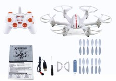 F15309-A/10 MJX X800 RC Drone Hexacopter RTF UAV 3D Roll Auto Return Headless Helicopter + 1pc Spare Battery (Without Ca