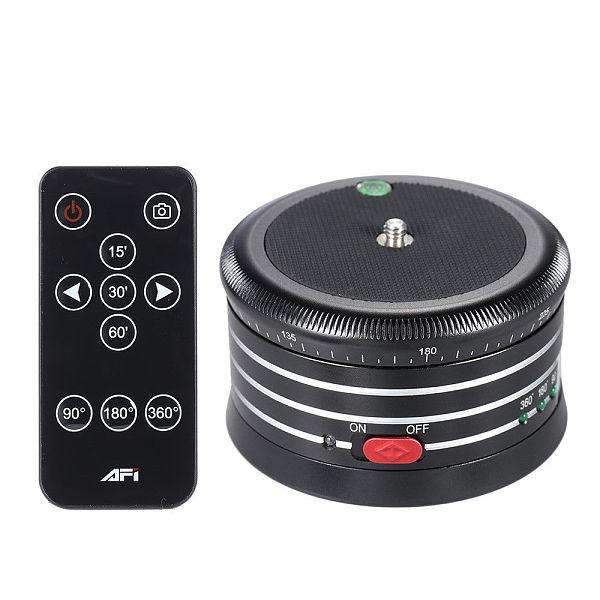 AFI MRA01 Mini 360° Electric Panorama Head Tripod Metal Gimbal for SLR Camera