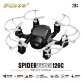 FQ777-126C FQ777 126C MINI Drone with 2MP HD Camera RC quadcopter MODE1 & MODE2 switch headless4CH 6Axis Gyro