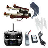 Assembled HJ 450 450F 4 Axis RFT Full Kit with APM 2.8 Flight Controller GPS Compass No Gimbal