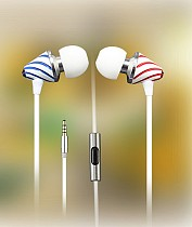 MOAOL MP285 Metal Headphone in-Ear Earphone High Quality Wired Headset Lollipop Style with Mic for Cellphone Computer