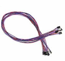 F04678 10Sets 70cm 4 Pin Female to Female Jumper Wire Dupont Cable Line for 3D Printer