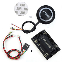 APM 2.8 Flight Controller + M8N GPS with Compass + Connect Cable for FPV DIY RC Drone Aircraft