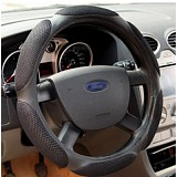 1pc Sandwich Sport Type 38CM 15 Car Steering Wheels Cover Cap Anti-slip Handlebar Grip
