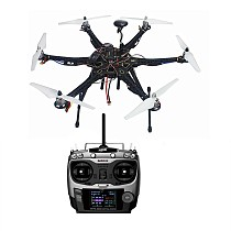 Assembled HMF S550 F550 Upgrade Kit with Landing Gear & APM 2.8 Flight Controller GPS Compass No Battery Charger