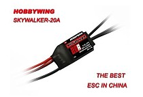 Drone Parts Hobbywing SkyWalker BEC 2-3S Lipo Speed Controller 15A Brushless ESC for RC Aircraft Helicopter